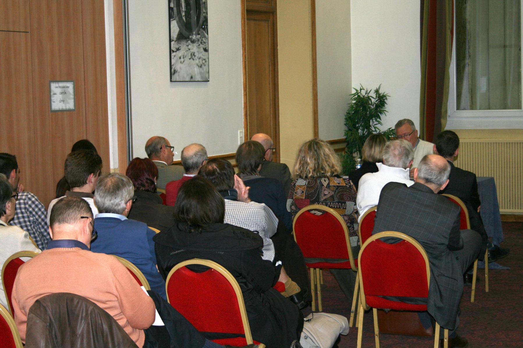 Conférence AES 01/04/2014 à Reims