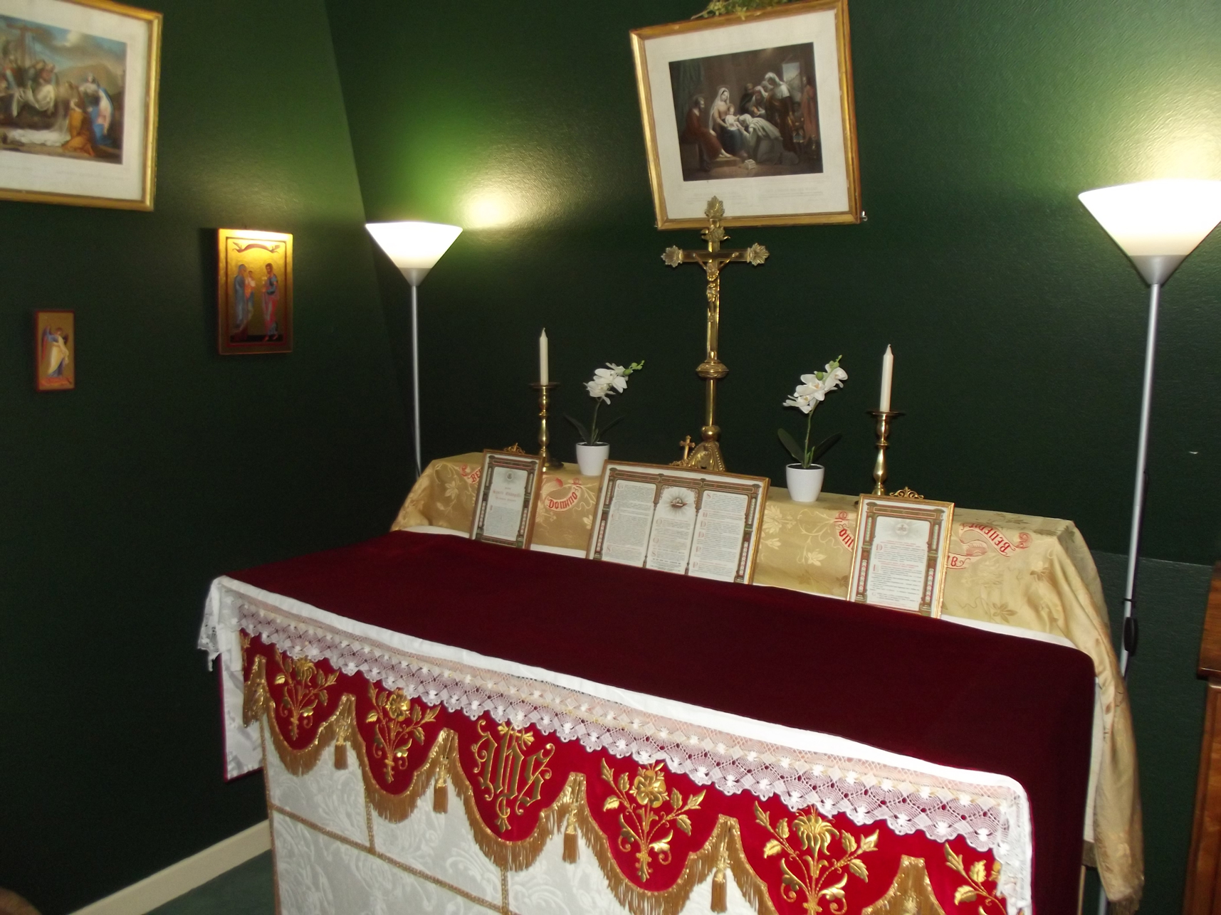Chapelle Maison Saint Michel